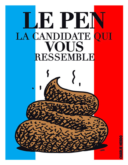 Charlie Hebdo - Le Pen