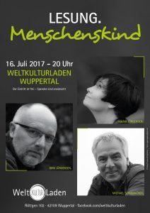 Eine Lesung mit Musik mit Michael Schumacher, Maria Jürgensen und Dirk Jürgensen